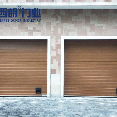 工业提升门在车库的应用